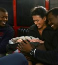 Pictured: (l-r) Edwin Hodge as Rick Newhouse, Melissa Ponzio as Donna Robbins, Eamonn Walker as Chief Wallace Boden -- (Photo by: Elizabeth Morris/NBC)