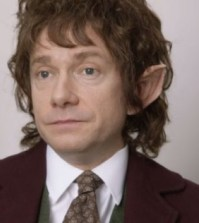 Martin Freeman as Tim/Bilbo