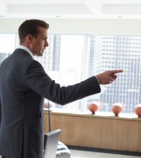 Pictured: Gabriel Macht as Harvey Specter. -- (Photo by: Shane Mahood/USA Network)