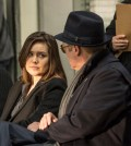 Pictured: (l-r) Megan Boone as Liz Keen, James Spader as Red Reddington -- (Photo by: David Giesbrecht/NBC)