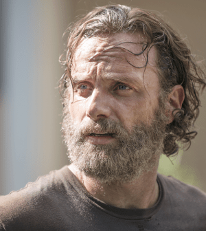Andrew Lincoln as Rick Grimes. Image ©AMC. Photo by Gene Page.