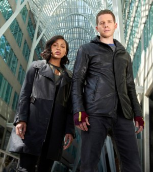 .Pictured L-R: Meagan Good as Detective Vega and Stark Sands as Dash. CR: Bruce Macaulay. FOX Broadcasting.