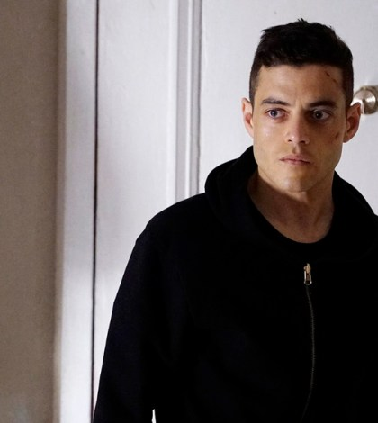 Pictured: Rami Malek as Elliot -- (Photo by: Peter Kramer/USA Network)