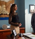 "SUITS -- ""Toe to Toe"" Episode 504 -- Pictured: (l-r) Gina Torres as Jessica Pearson, Wendell Pierce as Robert Zane -- (Photo by: Shane Mahood/USA Network)"