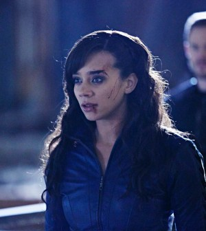 Pictured: Hannah John-Kamen as Dutch -- (Photo by: Ken Woroner/Temple Street Releasing Limited/Syfy)
