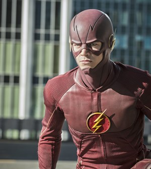 Pictured: Grant Gustin as The Flash -- Photo: Cate Cameron /The CW