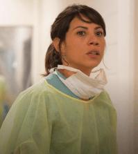 Elizabeth Rodriguez as Liza Ortiz. Image © AMC