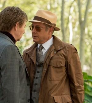 Pictured: (l-r) Paul Reubens as Mr. Vargas, James Spader as Red Reddington -- (Photo by: David Giesbrecht/NBC)