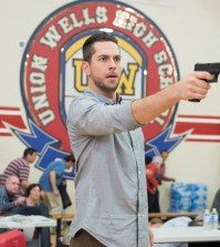 "HEROES REBORN -- ""Company Woman"" Episode 112 -- Pictured: Zachary Levi as Luke Collins -- (Photo by: Christos Kalohoridis/NBC)"