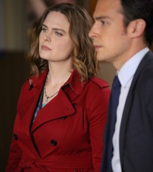 """BONES: L-R: Emily Deschanel and John Boyd in the """"The Last Shot at a Second Chance"""" episode of BONES. Co.  Cr:  Patrick McElhenney/FOX"""