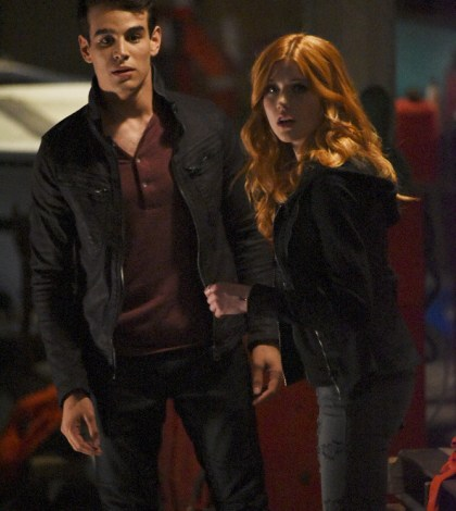 "SHADOWHUNTERS - ""The Guilty Blood"" (Freeform/John Medland) ALBERTO ROSENDE, KATHERINE MCNAMARA"