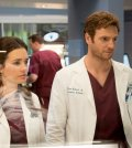 Pictured: (l-r) Torrey DeVitto as Natalie Manning, Nick Gehlfuss as Will Halstead -- (Photo by: Elizabeth Sisson/NBC)