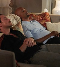 """Pictured L-R: Clayne Crawford and Damon Wayans in the """"Fashion Police"""" episode of LETHAL WEAPON airing Wednesday, Nov. 9 (9:00-10:00 PM ET/PT) on FOX. ©2016 Fox Broadcasting Co. CR: Adam Taylor/FOX"""