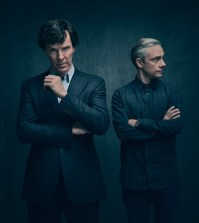 Sherlock Season 4 -- Pictured: Benedict Cumberbatch as Sherlock Holmes and Martin Freeman as John Watson. Photo credit Masterpiece PBS