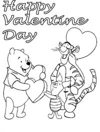Free Printable Valentine's Day Coloring Pages
