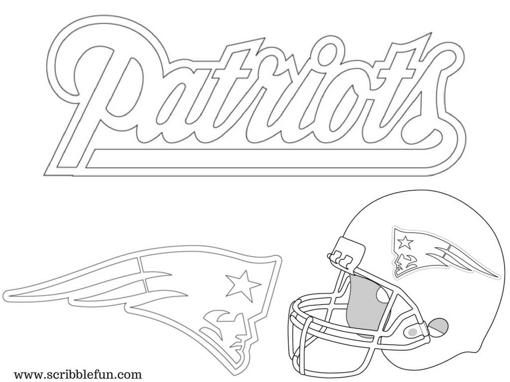 New England Patriots Coloring Pages SaveEnlarge