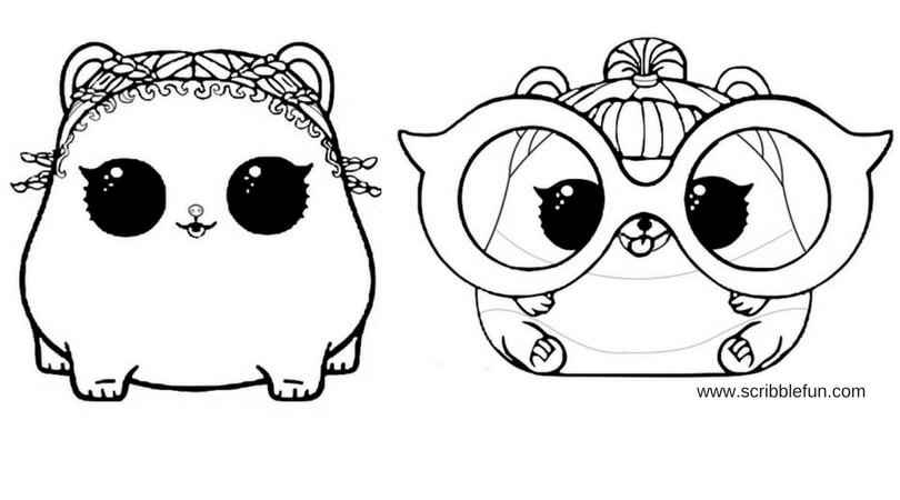 Lol Pets Coloring Pages Arenda Stroy