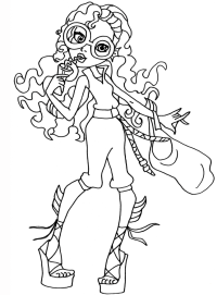 Free Monster High Coloring Pages To Print For Kids