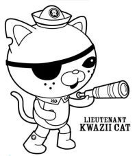 √ Free Printable Octonauts Coloring Pages