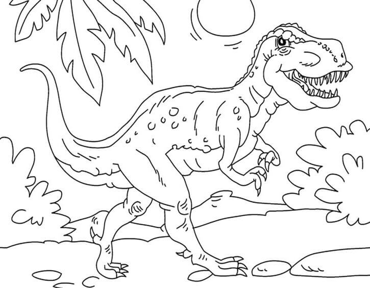 35 Free Printable Dinosaur Coloring Pages - coloring dinosaur