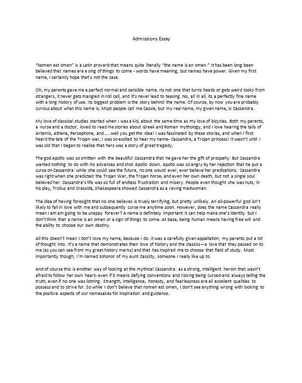 Admission essay editing service houston