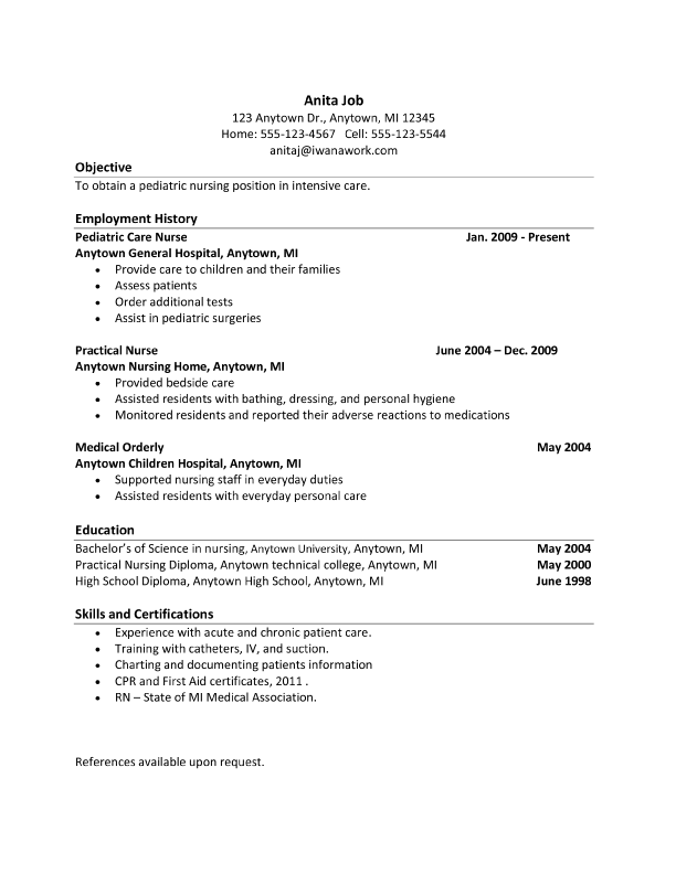 resume how to edit