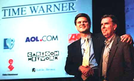 AOL Time Warner with Gerald Levin and Steve Case as Officers - ( Pre