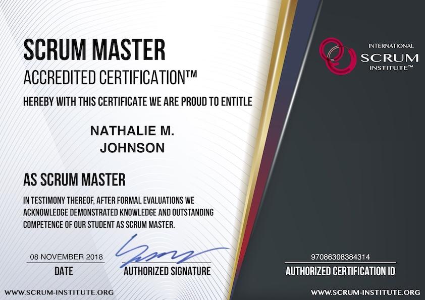 Example Scrum Certification Test Questions - International Scrum