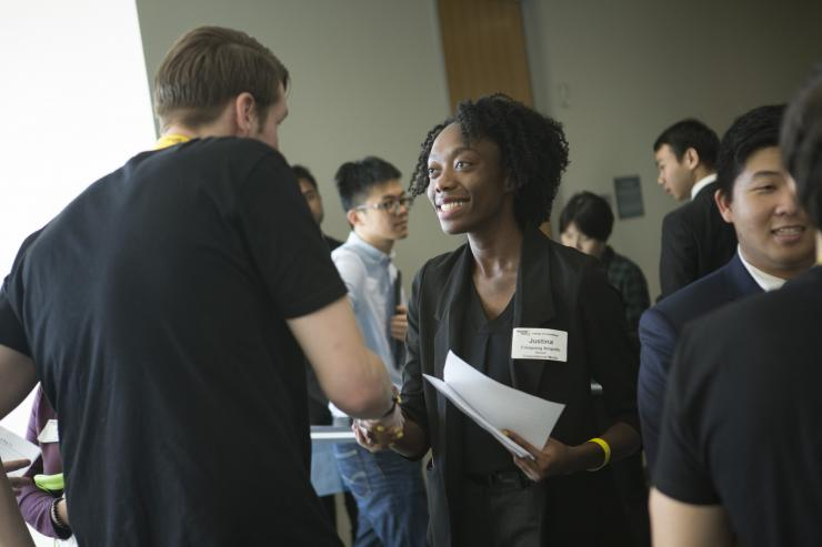 Top Companies Battle for GT Computing Students at Spring Career Fair