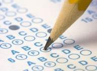 Bubble Sheet for Multiple Choice Test