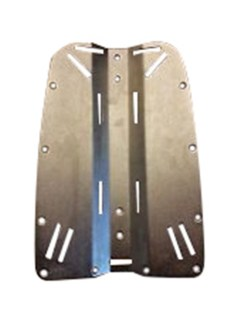 Stainless Steel Back plate - Wellington Store scuba dive gear diving equipment PADI TDI courses Rebreathers