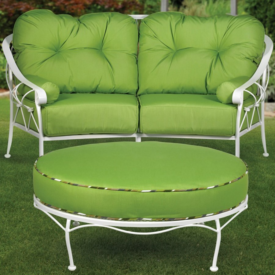 White Wrought Iron Indoor Outdoor Furniture