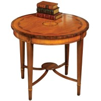 Round Inlaid Console Table | Console Tables | Tables ...