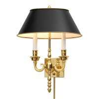 Polished Brass Wall Sconce | Sconces & Picture Lights ...