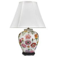 Floral Lamp Large | Table & Desk Lamps | Lamps | Home ...