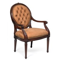 Blair Tufted Chair Nabuk Camel | Dining Chairs | Seating ...