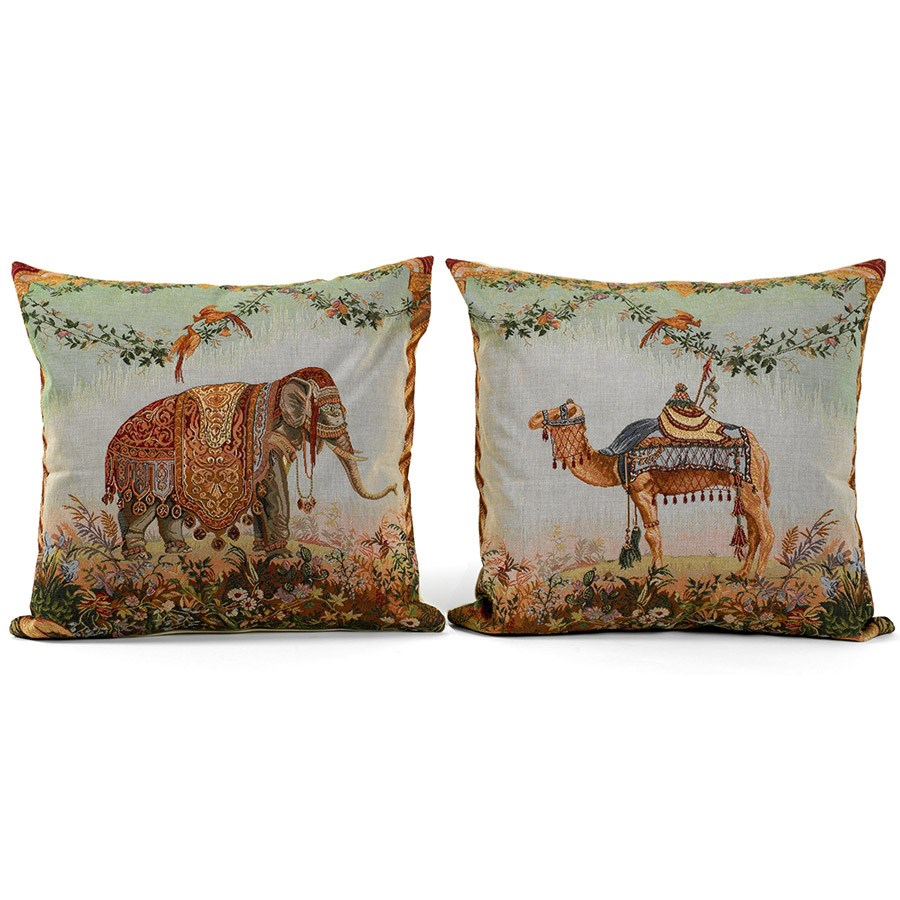 Decorated Animal Tapestry Pillows Pillows Home Decor