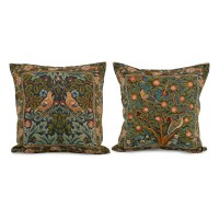 Two Birds Tapestry Pillow | Tapestry Pillows | Collections ...