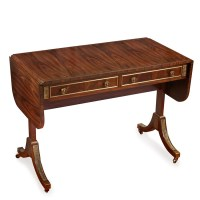 Rosewood Sofa Table with Drop Leaves | Drop-Leaf Tables ...