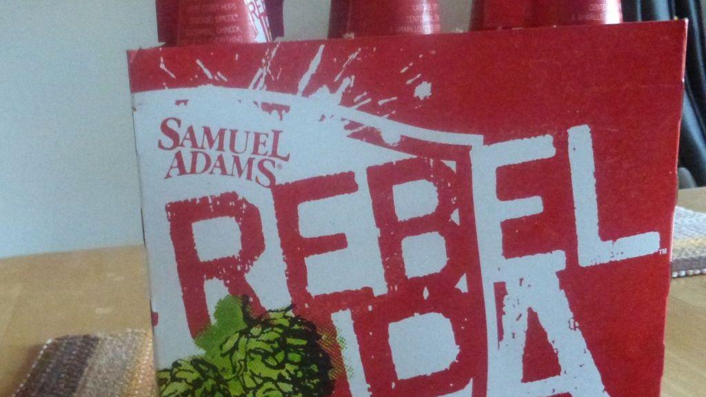 Rebel IPA Sam Adams