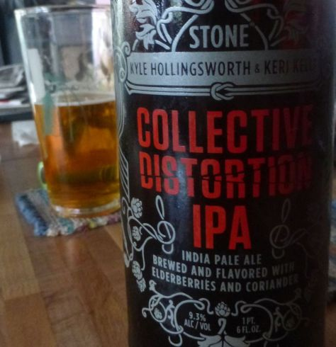 Stone Collective Distortion IPA.