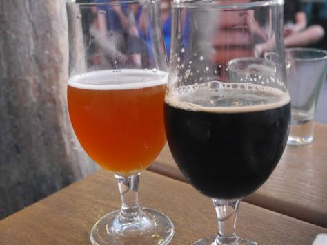 Mango Inferno (left) and Silva Stout (right).