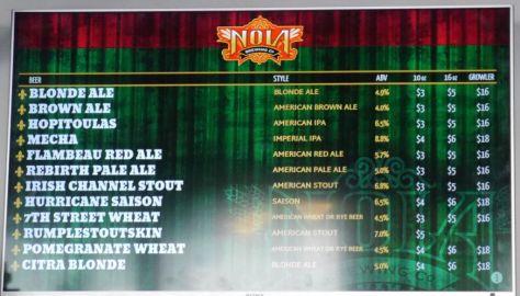 Beer list part 2.