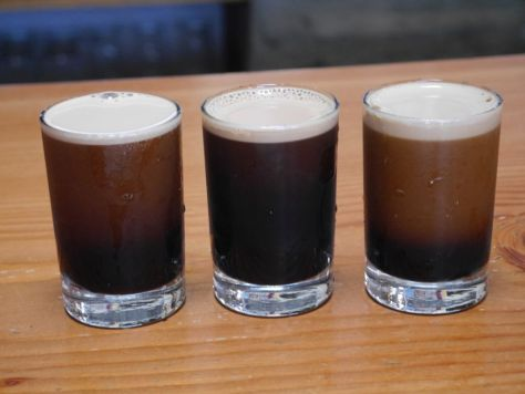 Last set of beers, all stouts.