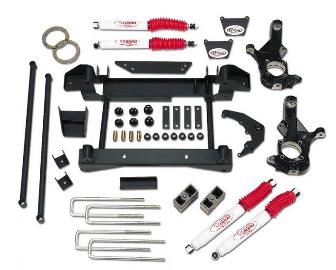 6 Suspension Lift Kit - 2001-2006 Chevy / GMC 1500HD Silverado