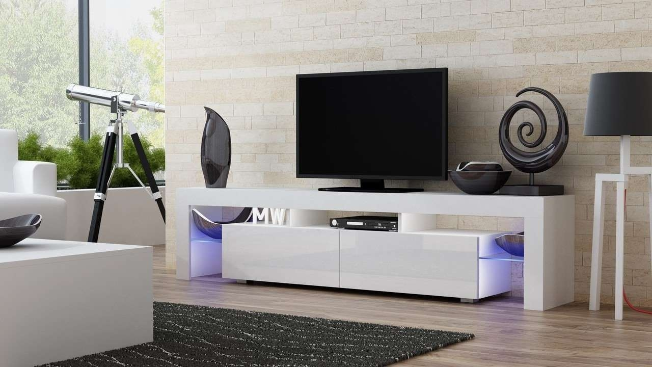 Alluring Milano 200 Width Tv Stand Concept Muebles Tv Stands Tv Stands South Africa Tv Stands Uk houzz-02 Contemporary Tv Stands