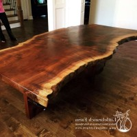20 Ideas of Tree Trunk Coffee Table