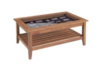 Coffee Table With Glass Display