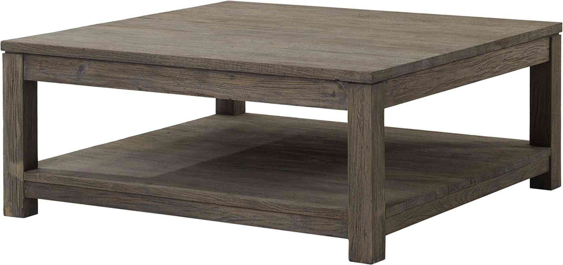 Decorating Large Square Coffee Table