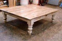 20 Ideas of Large Low Rustic Coffee Tables